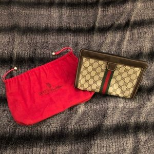 Vintage Gucci Accessory Collection Toiletry Pouch